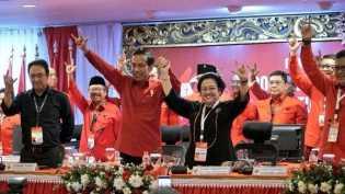 Capres Jokowi dan 'Sabda Mega' di Pulau Dewata