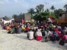 Pertemuan dengan PT Ivo Mas Tak Memuaskan, Suku Sakai Akan Kembali Beraksi
