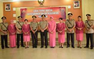Kapolda Riau Pimpin Sertijab Direskrimum dan Direskrimsus