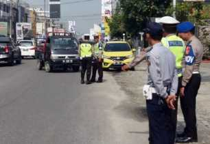 Operasi Muara Takus 2018 di Pekanbaru, Ini Pelanggaran Terbanyak Ditegur Polisi