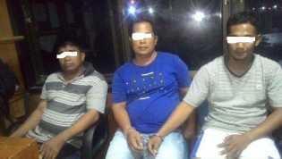 Nyabu, Kades dan Karyawan RAPP Ditangkap