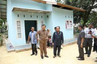 Pemko Sudah Bangun 228 Jalan Lingkungan dan 24 RLH di Simpang Tiga
