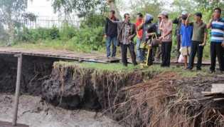 Abrasi Pulau Untut Diduga Akibat Kapal Tongkang PT Arara Abadi