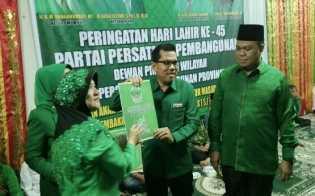 PPP Riau Buka Pendaftaran Balon Caleg Saat HUT ke-45