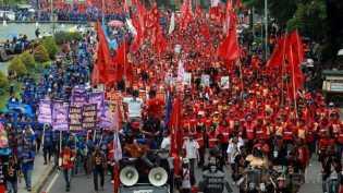 Besok, 4 Ribu Buruh akan Berkumpul di Gedung Juang 45