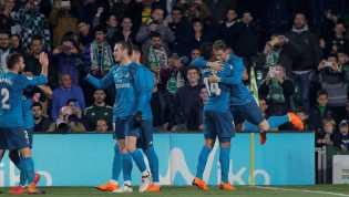 Sempat Tertinggal, Real Madrid Kalahkan Real Betis 5-3