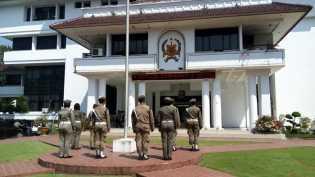 Delapan Satpol PP Dihukum Jemur, Empat di Antaranya Wanita