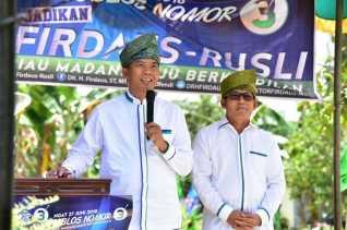 Keprihatinan dan Kegelisahan Ini yang Bikin Firdaus Berjanji Akan Kerja Keras Membangun Riau
