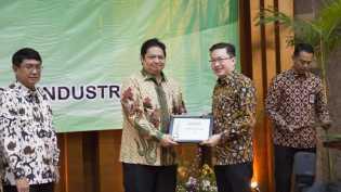 RAPP Raih Penghargaan Industri Hijau dari Kementerian Perindustrian