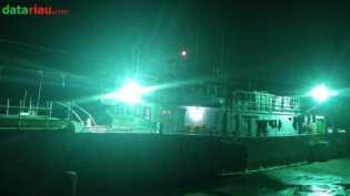 Bea Cukai Bengkalis Amankan Kapal Berbendera Taiwan di Perairan Meranti