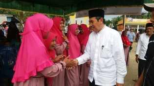 Dukung Syamsuar-Edy Nasution, Warga Rakit Kulim Yakin dengan Pilihannya