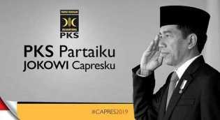 Beredar Poster 'PKS Partaiku Jokowi Capresku', PKS: Itu Fitnah!