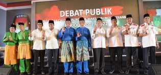 Debat Publik, Paslon Lain 'Mengakui' Hebatnya Program Firdaus - Ayat dan Minta Dilanjutkan