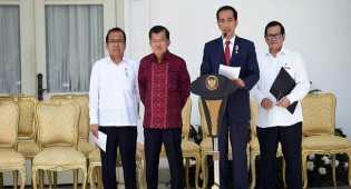 Curhatan para menteri yang dicopot Jokowi