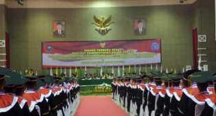 Presiden Jokowi Kukuhkan 1.921 Calon Pamong Praja IPDN