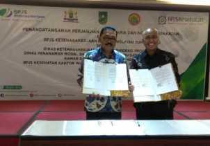 Duo BPJS Teken Perjanjian Kerjasama