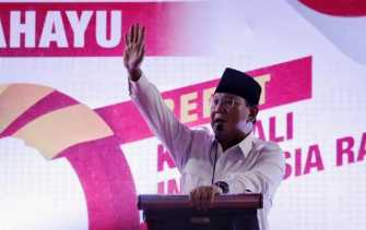 Tak Peduli Poros Ketiga, Gerindra Fokus Pencalonan Prabowo