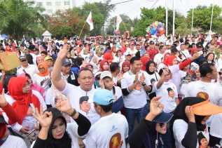 Berbagi dengan Sesama di HUT Gerindra, 3 Dahsyat, 10 Video Edi Tanjung dan H Firdaus Bergoyang