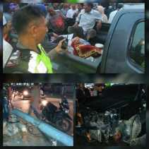 2 Kecelakaan Terjadi dalam Semalam di Pekanbaru, X-Trail Hantam Tiang di Tuanku Tambusai Hingga Tabr