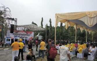 Ratusan Polisi Dikerahkan Amankan Deklarasi Kampanye Damai Pilgub di Riau