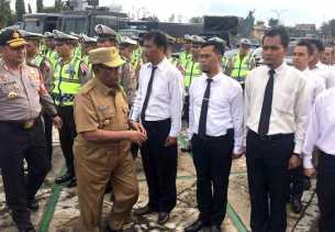 Jelang Pilkada Serentak 2018, Polda Riau Gelar Pasukan Operasi Mantap Praja Muara Takus 2018