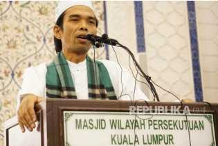 Pengajian Ustaz Abdul Somad di PLN Jakpus Mendadak Batal