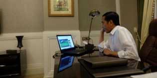 Kemenangan Timnas 'Kalah' Tenar Dengan Laptop Jokowi