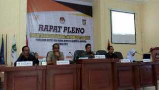 Hasil Pleno 21 PPK, Azis-Catur Juarai Pilkada Kampar