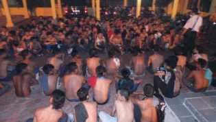Polisi amankan 27 Motor Pembalap Liar di Pekanbaru