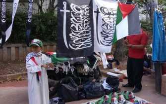 Kisah Mulia dan Warga Filipina Bantu Palestina di Aksi 115