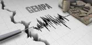 Sore Ini, Gempa 4,6 SR Guncang Pesisir Selatan, Sumbar