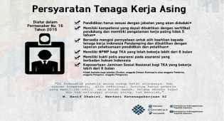 Sulit bagi WNA bisa bekerja di Indonesia