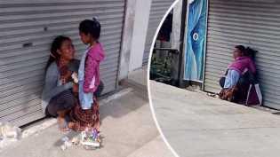 Memilukan, Seorang Ibu Menangis Tak Mampu Membeli Nasi Buat Anaknya