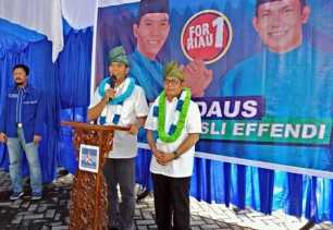 Ini Nomor Urut yang Diinginkan Firdaus di Pilkada Riau Nanti