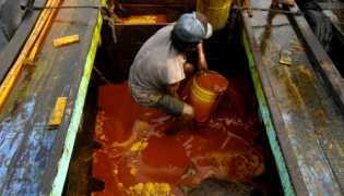 Minyak Sawit Mentah PT Nagamas Cemari Laut Dumai