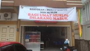 Bulan Ramadhan, Rumah Makan Non Muslim Di Pekanbaru Menjamur