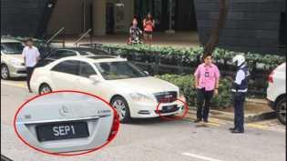 Luar Biasa, Polisi Singapura Ancam Tilang Mobil Presiden