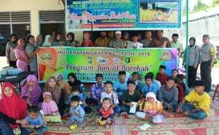 Tutup Pekan Akhir Ramadan, Tim Jumat Barokah Kunjungi Panti Asuhan
