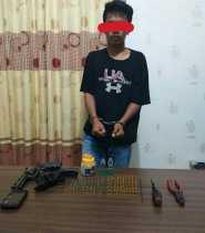 Gagalkan Transaksi Senjata Api, Dor!!.. Pelaku Keburu Ketangkap Unit Reskrim Polsek Kandis