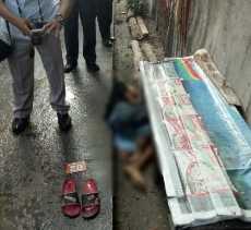 Jasad Bocah yang Meninggal dalam Posisi Meringkuk di Samping Pintu Dapur Rumah Warga Masih di RS Bha
