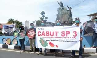 Besok Walhi Daftarkan Pra Peradilan Pembatalan SP3 Karhutla