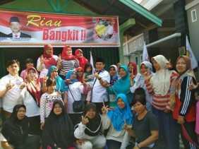 Kampanye di Pekanbaru, Hardianto Sorot Mahalnya Pertalite di Riau