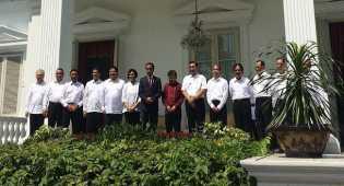 Usai Dilantik, Menteri Baru Langsung Ikut Sidang Paripurna