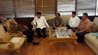 Temui Dirjen Haji dan Umroh, Sekda Optimis Tahun ini Embarkasi Antara JCH di Riau