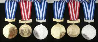 Atlet Karate Inhil Boyong Lima Medali dari Kejurnas Bali
