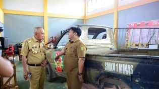 Mobil Bekas Pemprov Riau Akan Dikirim ke SMK untuk Bahan Praktek