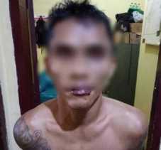 Jambret Kalung PNS Wanita, Residivis Bertato Dihajar Sampai Bonyok