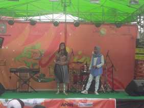 Natasya Tampil Memukau di Konser Purwacaraka Music Studio Riau Expo