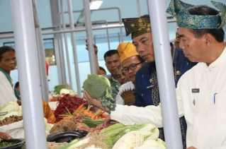 Resmikan Pembangunan Pasar Tengku Kasim, Firdaus: Ini Wujud Smart Ekonomi