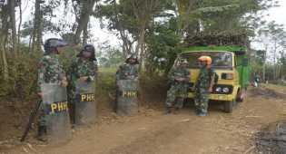 Penyerangan pos jaga TNI AU Karna Sengketa Lahan